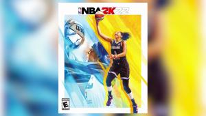 ¿Quién es la primera mujer en la tapa de NBA 2K?