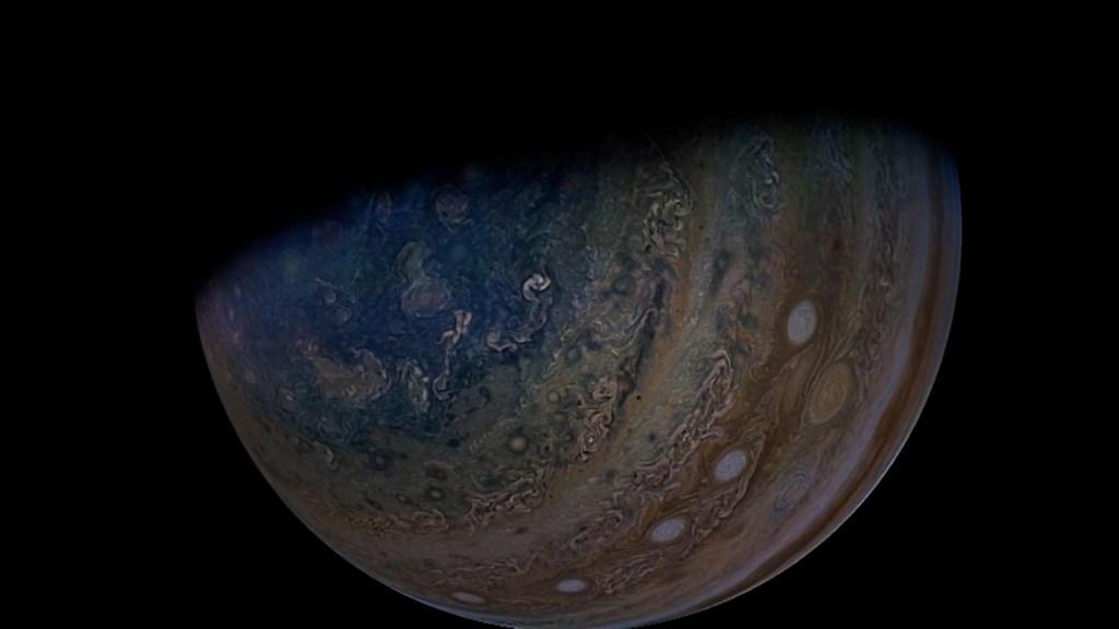 Incredible images of Ganymede, the moon of Jupiter