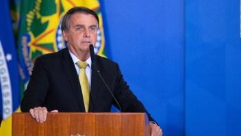 Bolsonaro presenta leve mejoría tras su internación