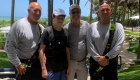 Se reúnen rescatistas con joven que salvaron en Miami