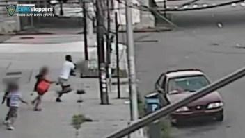 Intento de secuestro a un niño quedó captado en video