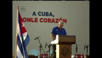 Díaz-Canel: Lo que se está viendo de Cuba es mentira
