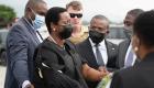 Primeras imágenes del regreso de Martine Moïse a Haití