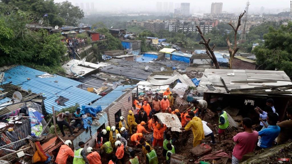 Al menos 31 muertos tras fuertes lluvias en la India