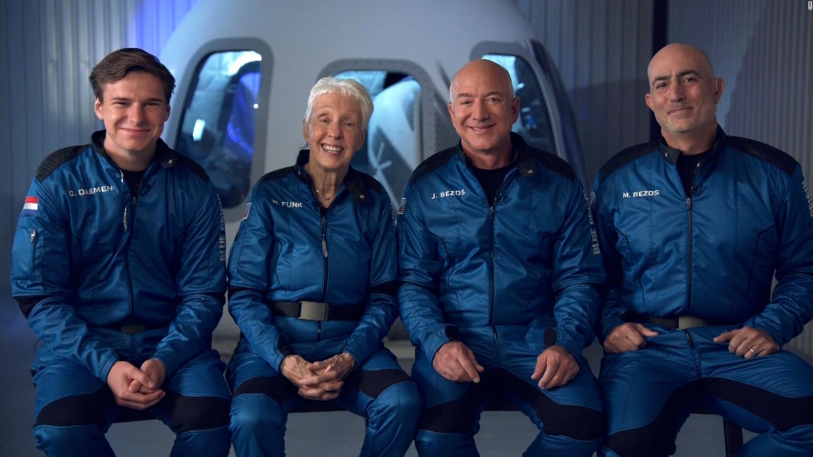 """Jeff Bezos habla con CNN antes de su viaje al espacio: """"Me va a cambiar"""""""
