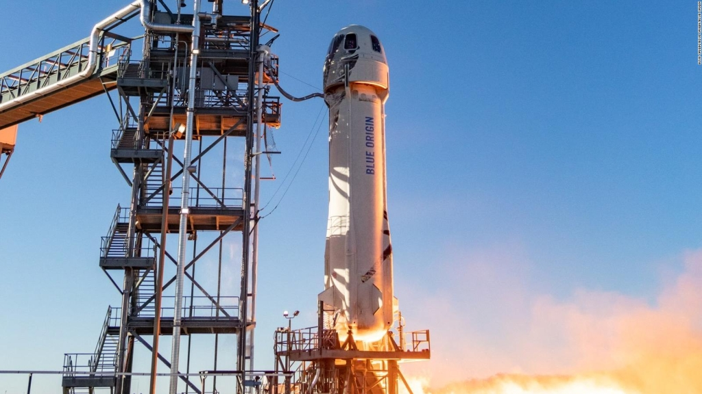 El objetivo del viaje de Jeff Bezos al espacio