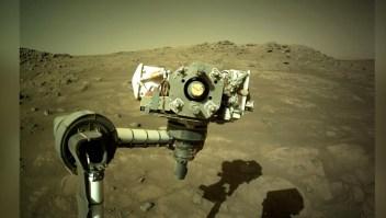 Nueva selfie del róver Perseverance desde Marte