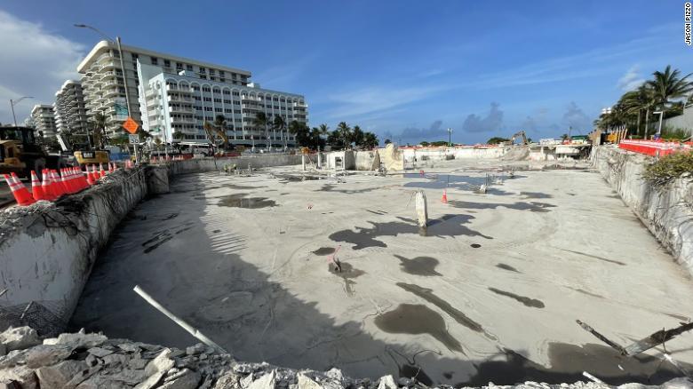 ¿Qué pasará con el terreno del edificio colapsado en Miami?