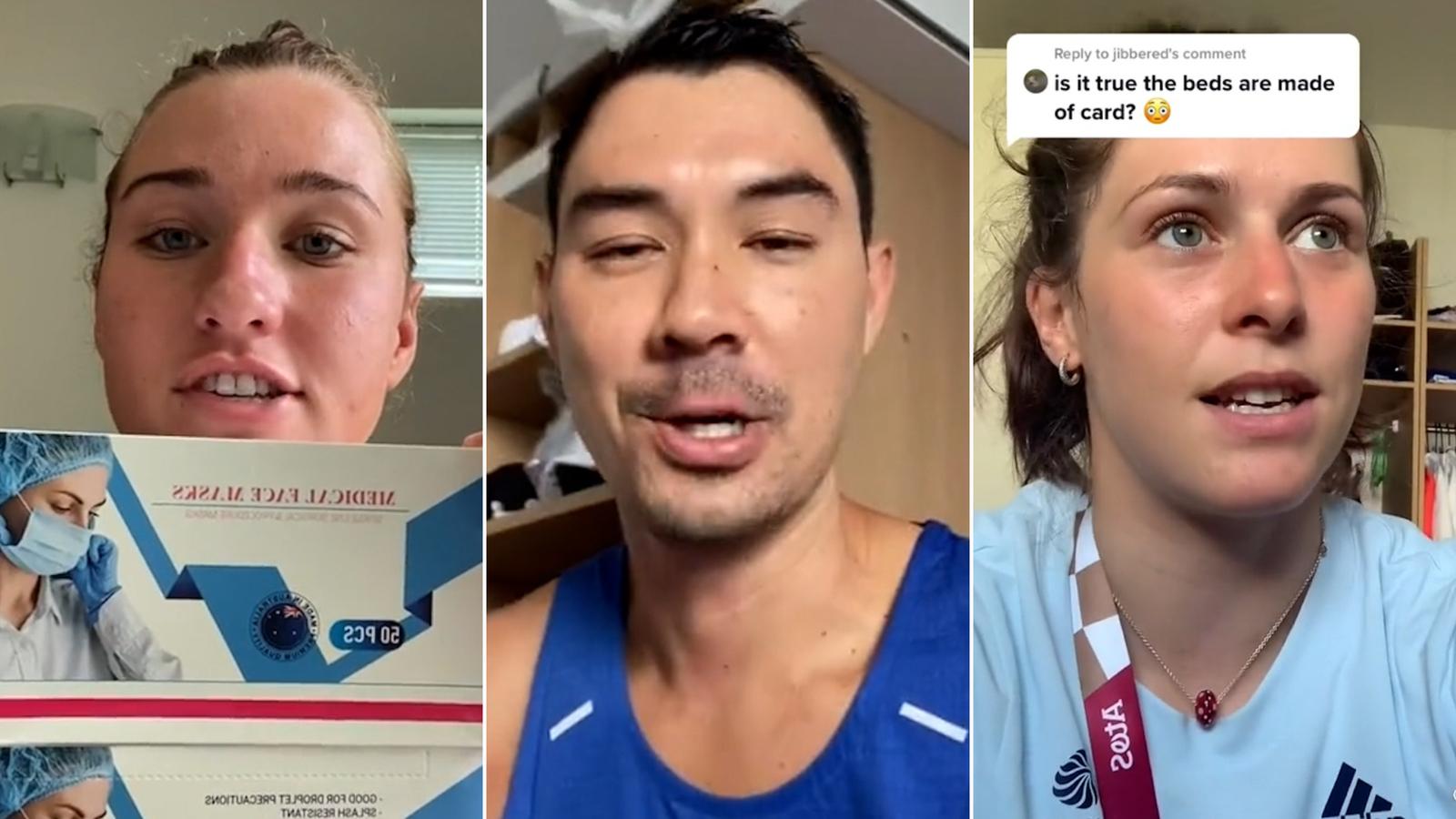 Así es el día a día de los atletas en la Villa Olímpica de Tokio