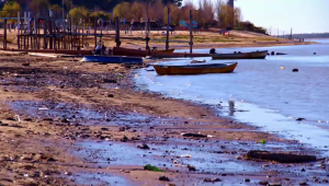 Alerta por el bajo nivel de agua del río Paraná en Rosario