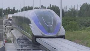 Este tren superrápido de China puede llegar a 600 km/h