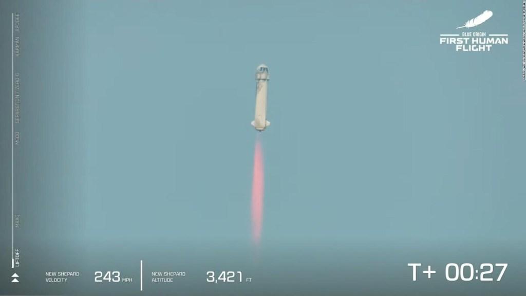 Línea de Kármán: el límite del espacio que cruzó Bezos