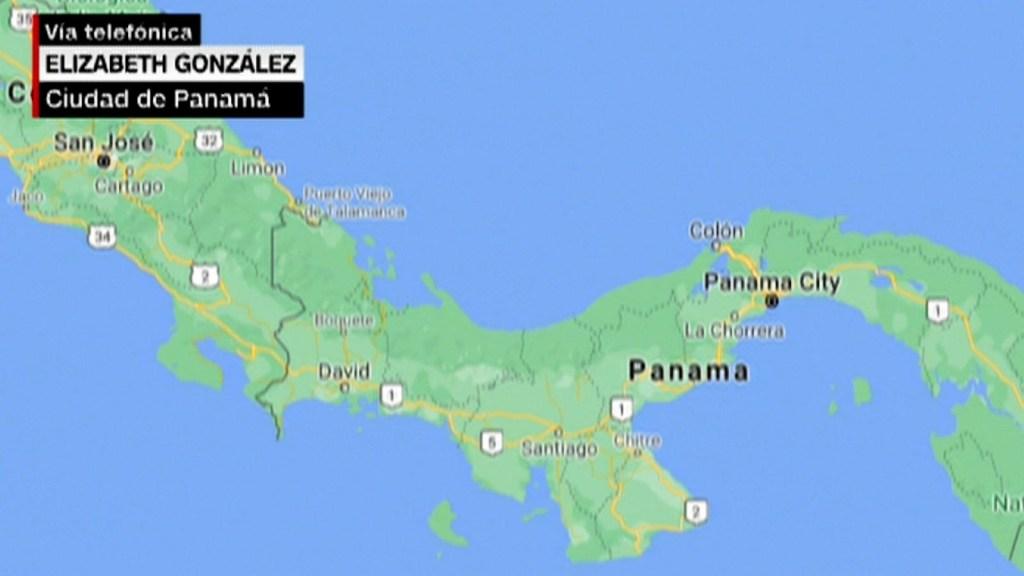 Sacude a Panamá un sismo de magnitud 6,8