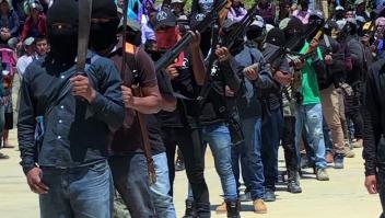 Crean grupo de civiles armados para proteger a mexicanos