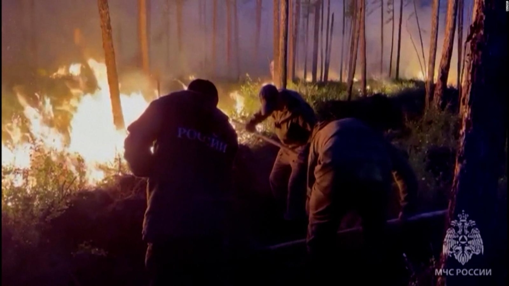 Incendios en Siberia y Canadá alarman a expertos