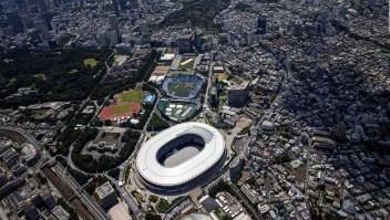Así se ve Tokio 2020 desde el aire