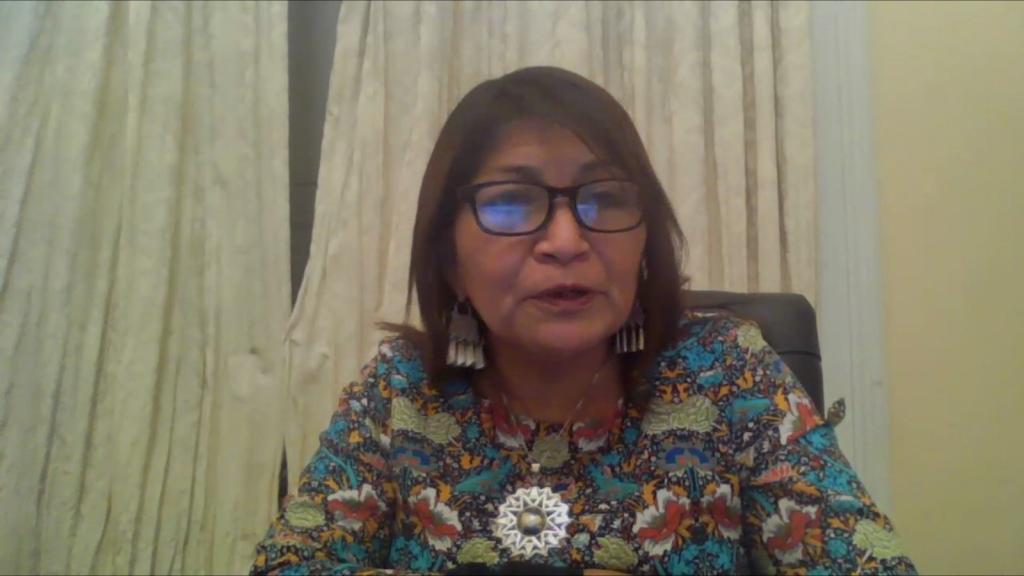 Movimientos demandaron cambiar Constitución, dice Loncón