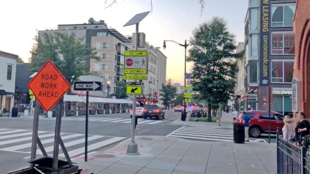 Reportero de CNN graba tiroteo en Washington
