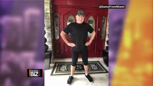 El estilista Samy Suárez sufre un derrame cerebral