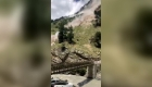 Deadly landslide on a mountain in India