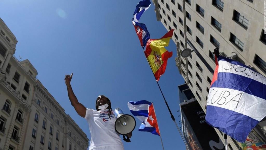 Madrid alza la voz contra el gobierno de Cuba
