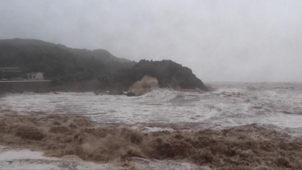 Impresionante: así tocó tierra el tifón In-fa en China