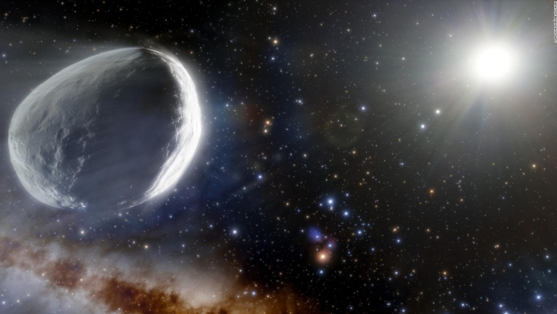Este cometa ha viajado hacia el sol durante millones de años