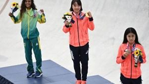 ¿Es común que adolescentes ganen medallas de oro?
