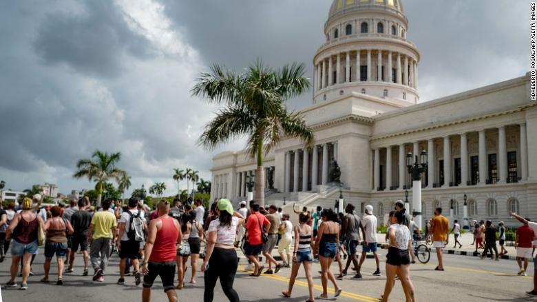 Cuba protestas juicios