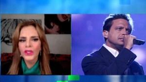 Lucía Méndez recuerda su romance con Luis Miguel