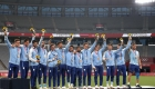 Argentina wins first Olympic medal