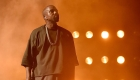 Kanye West uses a stadium as a recording studio