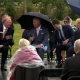 Sombrilla vs Boris Johnson, mira el divertido momento