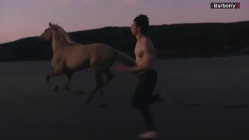 """Mira cómo Adam Driver se """"convierte"""" en un centauro"""