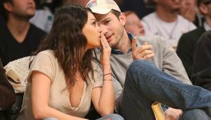 Ashton Kutcher y Mila Kunis casi no bañan a sus hijos
