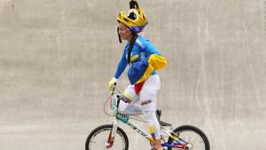 Mariana Pajón, la reina de plata en el BMX