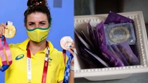 Gana una medalla de oro con la ayuda de un condón