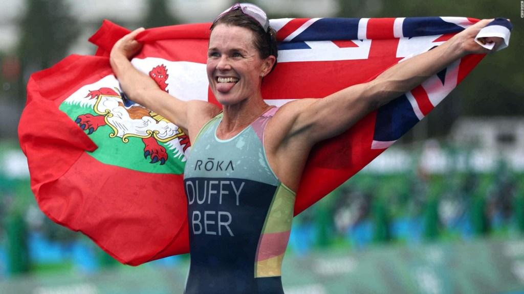 Flora Duffy pone a Bermudas en el mapa olímpico dorado
