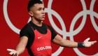 Medallista olímpico colombiano resalta unión en su país