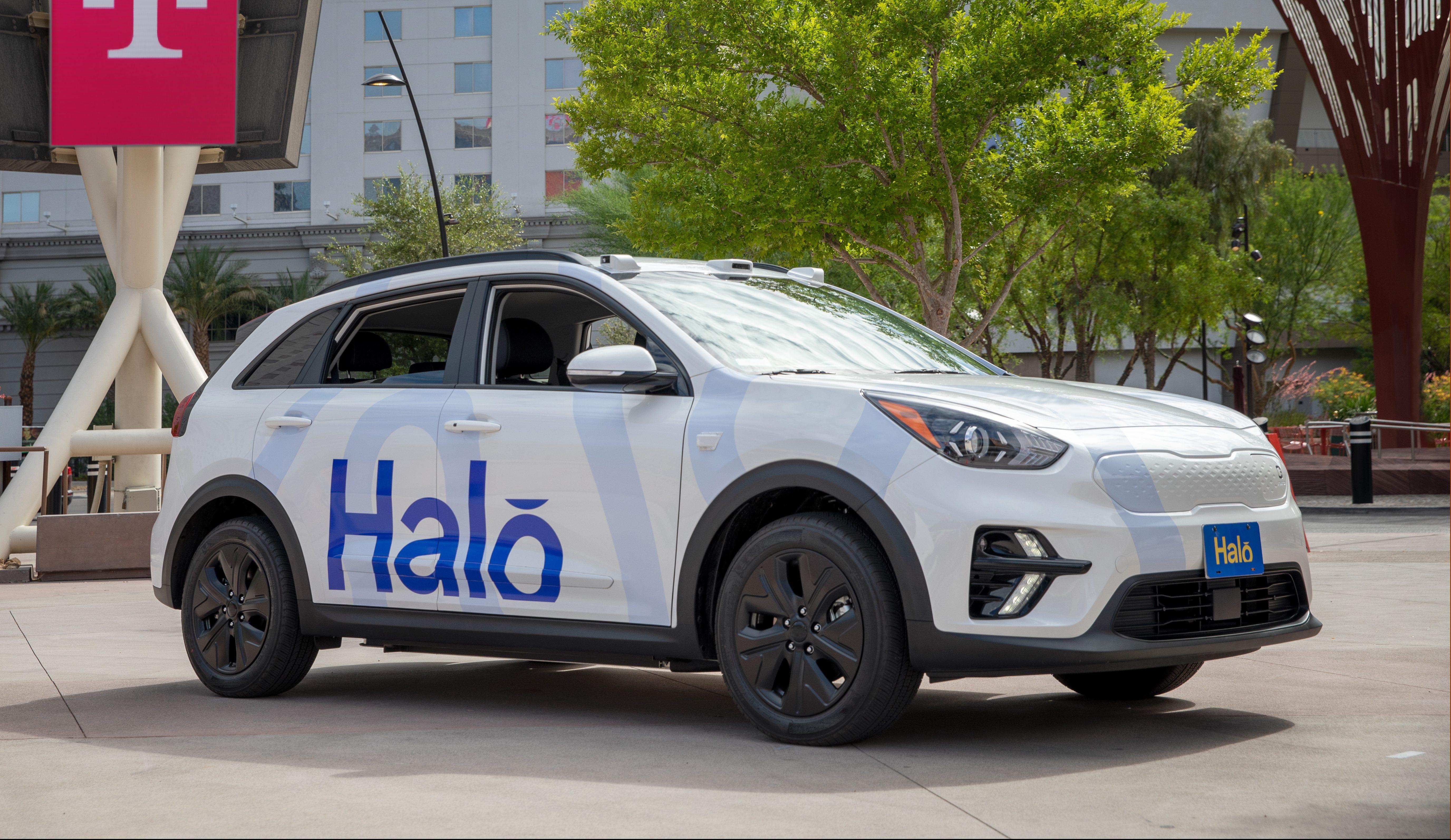 Halo Driverless Car