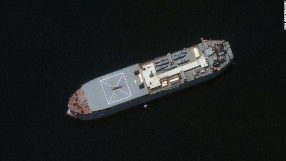 barcos Irán Rusia
