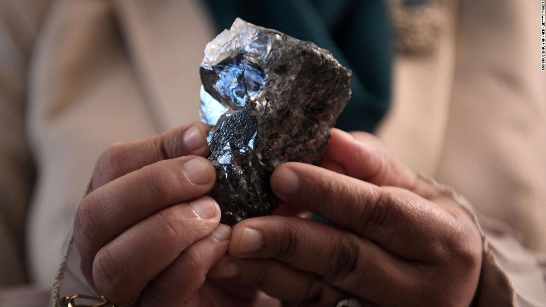 Botswana diamante