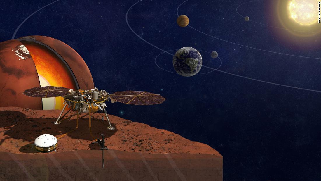 Los movimientos sísmicos de Marte revelan el misterioso interior del planeta rojo