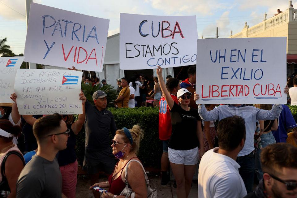 Protestas en Cuba: reacciones en EE.UU. y América Latina