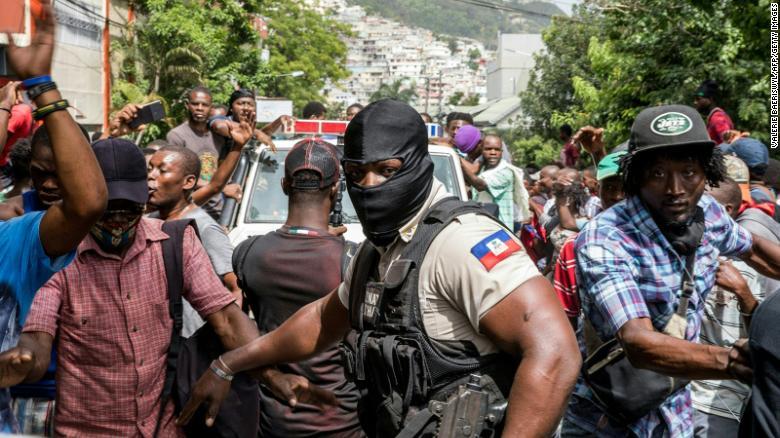 Haití sospechoso