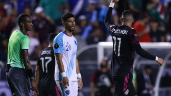 México vs Guatemala Copa Oro Funes Mori