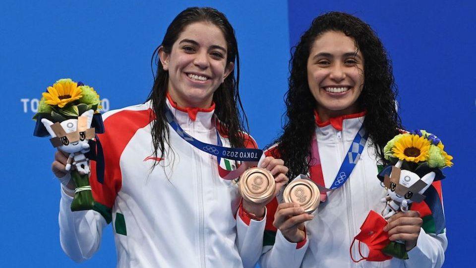 Mexiko-Medaille genagelt
