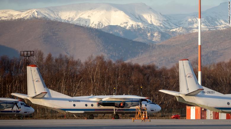 avión Rusia