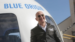 Jeff Bezos espacio