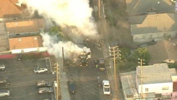 Los Ángeles explosión
